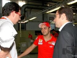 """Massa: """"Ferrari kan niet met de druk omgaan"""""""