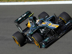 Van der Garde and Rossi for Caterham at Young Driver Test