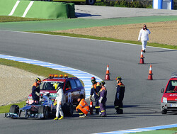 Jerez day 1: Button on top, false start for Mercedes