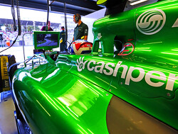 Caterham welcomes Cashper as official partner