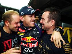 Vettel en Red Bull Racing maken kans op Laureus Award