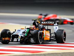 Perez door de jaren heen: 2014, regelmatig in de punten door Mercedes-krachtbron