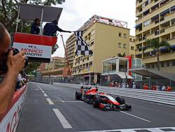 Onboard bij Jules Bianchi's Marussia in Monaco