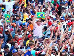 Mika Salo doet in Brazilië dienst als extra steward