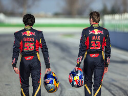 Suits me that interest centres around Verstappen - Sainz