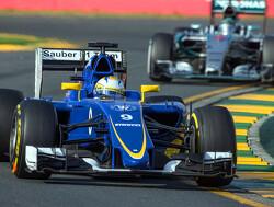 Sauber en hoofd aerodynamica Toet uit elkaar