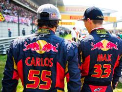"""Sainz: """"Gelijk duidelijk dat Max Verstappen buitengewoon begaafd was"""""""