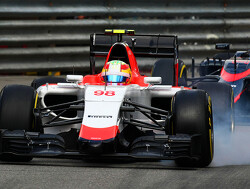 Merhi delighted to have finally beaten Stevens