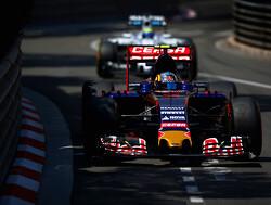 Carlos Sainz met zijn beste save met een Formule 1-bolide