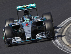 FP2: Scary moment for Rosberg as tyre explodes