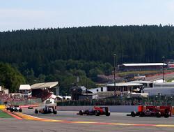 Villeneuve en Zonta bezorgen BAR duur weekend op Spa-Francorchamps