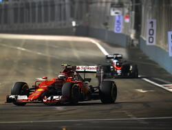 VT3: Ferrari bovenaan na laatste training Singapore