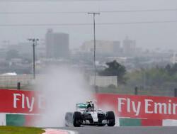 VT3: Mercedes snelste op droog Suzuka
