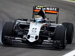 VT2: Perez beste van de rest achter Mercedessen