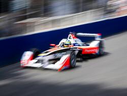 Tiago Monteiro tests Formula E car
