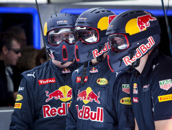 Red Bull's RB13 ready in Barcelona