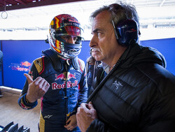 Podium target exaggerated for Toro Rosso - Sainz sr