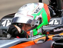 Force India doet in vrije training beroep op Celis