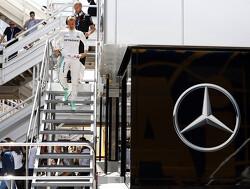 """Toto Wolff: """"Hamilton raakte geirriteerd door verlies van Rosberg"""""""