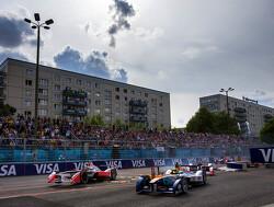 Formule E-auto Jaguar maakt testdebuut