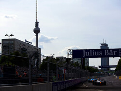 Formula E barriers used in Berlin defence