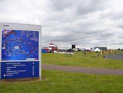 Overzicht: Line-up voor de test op Silverstone