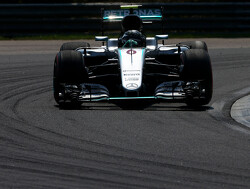 Nico Rosberg leads Lewis Hamilton in first practice