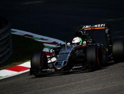 Force India-coureurs zoeken nog naar extra snelheid