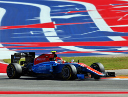 Jordan King ook in Abu Dhabi in actie voor Manor tijdens VT1