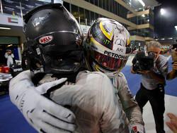 """Hamilton: """"No desire to fix Rosberg friendship"""""""