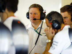 Zak Brown not willing to discuss McLaren sale rumours