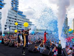 Buemi holds off di Grassi to win the Monaco ePrix