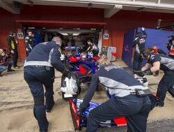 "Toro Rosso unfazed by intitial pre-season ""bumpy ride"""