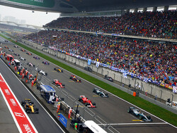 Starting grid for the 2018 Chinese Grand Prix