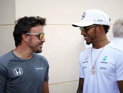 """Fernando Alonso: """"Michael Schumacher zal altijd groter zijn dan Lewis Hamilton"""""""