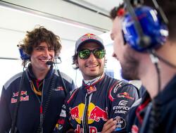Carlos Sainz 'happy' at Scuderia Toro Rosso