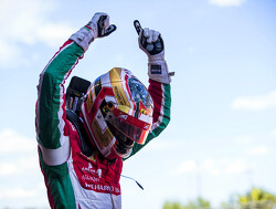 Leclerc wins dramatic red flag ending race
