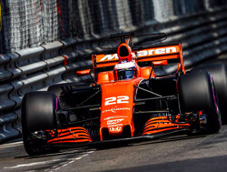 Button to start Monaco GP from the pitlane