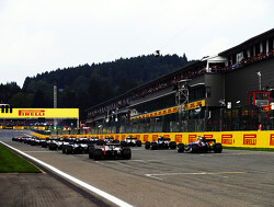 Starting grid for the 2018 Belgian Grand Prix
