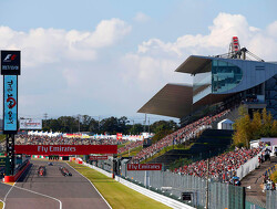 Starting grid for the 2018 Japanese Grand Prix