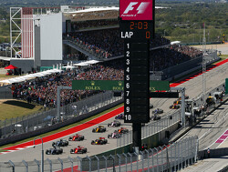 Starting grid for the 2018 US Grand Prix