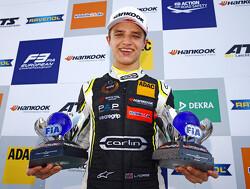 Jaaroverzicht Formule 3: Debutant Norris overtuigende kampioen