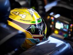 Crash Lewis Hamilton tijdens Q1 kwalificatie GP van Brazilië