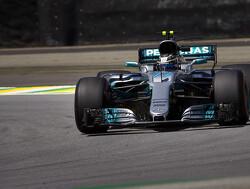 VT3: Valtteri Bottas met de snelste tijd, Max Verstappen heeft het lastig