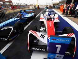 Rosenqvist clinches pole in Mexico