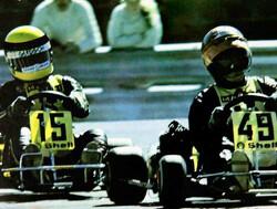 Terry Fullerton: de sterkste tegenstander van Senna