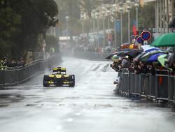 Nico Hülkenberg verzorgt F1-demo in regenachtig Nice