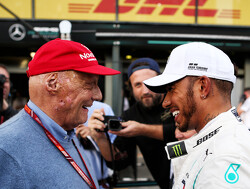 Hamilton: Lauda was 'a bright light in my life'