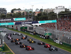 Starting grid for the 2019 Australian Grand Prix