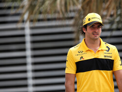 Sainz satisfied with Renault performance